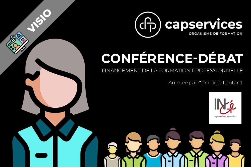 Conference sur le financement de la formation animée par Ingé (Géraldine Lautard)